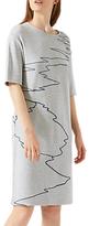Jigsaw Ocean Tide Embroidered Dress
