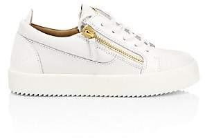Giuseppe Zanotti Women's Double-Zip Leather Sneakers