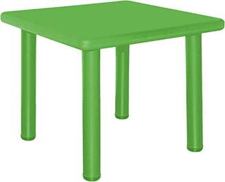 Camilla And Marc Bieco 04000033 Children's Table, Approximately 62 x 62 x 62 cm, Green