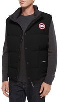 Canada Goose Freestyle Down Puffer Vest, Black