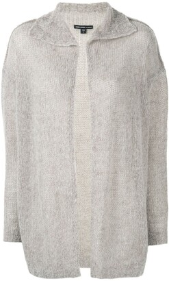 James Perse spread collar cardigan