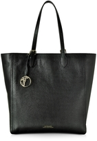 Versace Black Leather Large Tote