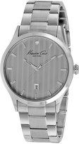 Kenneth Cole New York Men's Diamond Accent Stainless Steel Bracelet Watch 42mm KC9368