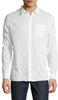 Vince Cotton Double Weave Melrose Sportshirt