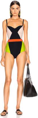 Flagpole Babe Swimsuit in Black Multi | FWRD