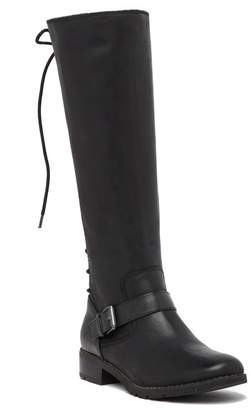 Sofft Kristie Leather Lace Up Tall Boot