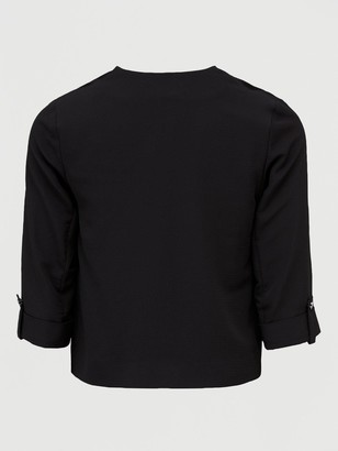 Dorothy Perkins PetiteWaterfall Jacket - Black