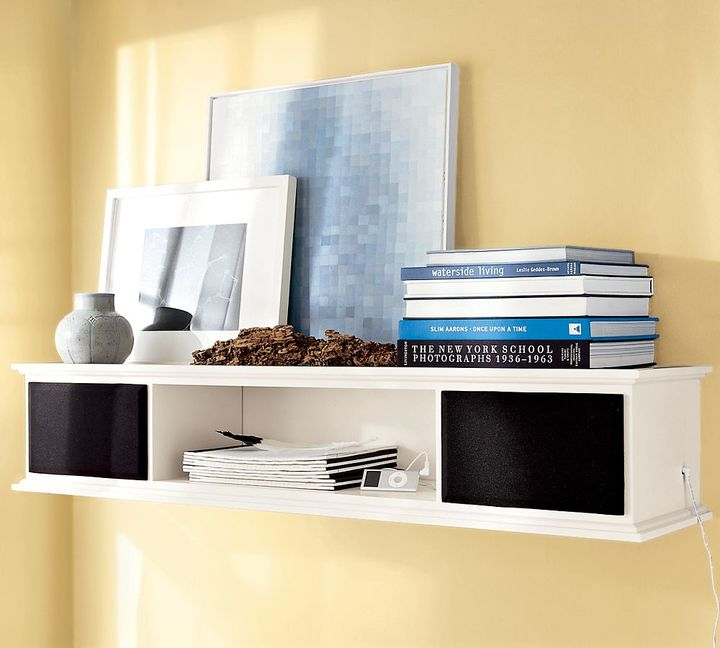 Pottery Barn Bedford Smart Wall-Mounted Speaker Shelf