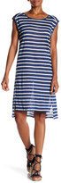 Velvet by Graham & Spencer Leila Linen Striped Dress