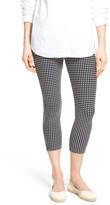 Hue Checkered Capri Legging