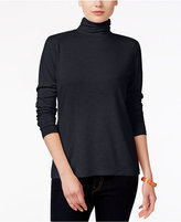 Style&Co. Style & Co. Petite Mock-Turtleneck Top, Only at Macy's
