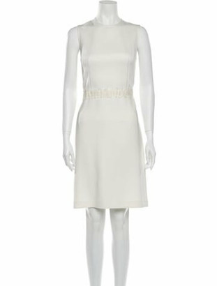 3.1 Phillip Lim Crew Neck Knee-Length Dress
