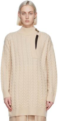 Max Mara Beige Wool and Cashmere Medea Sweater