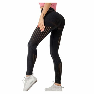 So Buts Women Pants SO-buts Womens Yoga Pants High Waist Workout Leggings Textured Booty Tights Yoga Pants for Women