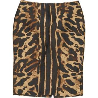Alexander McQueen Brown Polyester Skirts