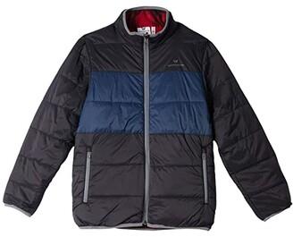 White Sierra Zephyr Insulated Reversible Jacket (Black) Men's Coat