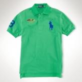 Polo Ralph Lauren Classic-Fit Big Pony Flag Polo