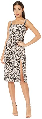 Sanctuary Georgina Sundress (Neutral Spots) Women's Dress