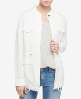 Sanctuary Too Cool 4 School Fringe Jacket