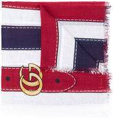 Gucci striped scarf - women - Silk/Modal - One Size