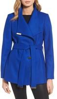 Ted Baker Women's Wool Blend Short Wrap Coat