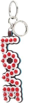 Fendi Studded Love Key Chain