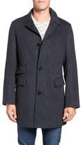 Billy Reid 'Astor' Three-Button Wool Overcoat