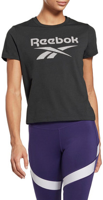 Reebok Workout Ready Supremium Slim Fit Big Logo Tee GI6851