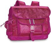Bixbee Girl's Sparkalicious Glitter Kids Backpack, Ruby