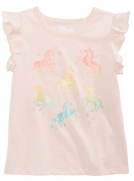 Epic Threads Toddler Girls Ombre Unicorn T-Shirt, Created for Macy's