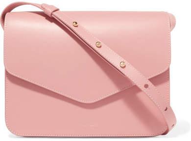 Mansur Gavriel Envelope Leather Shoulder Bag - Blush
