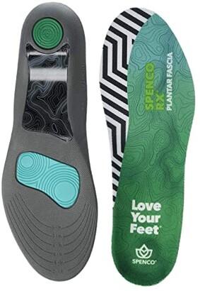Spenco Full Length Plantar Fascia (Black) Women's Insoles Accessories Shoes