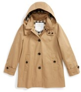 Burberry Girl's Geri Update Hooded Rain Jacket