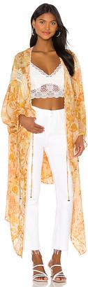 Free People Lost In Love Kimono Jacket