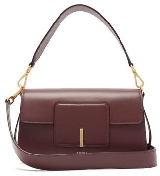 Wandler Georgia Leather Shoulder Bag - Womens - Burgundy