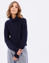 All About Eve Sweet Tails Cable Knit