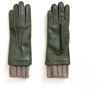 Veronica Beard Siglinda Cashmere Cuff Gloves
