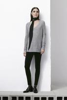 J Brand 815 Velvet Mid-Rise Super Skinny in Black
