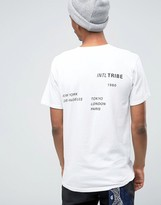 Stussy Worldwide T-shirt With Back Print