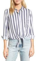 Rails Women's Val Stripe Tie Front Top