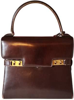 Delvaux Tempete Burgundy Leather Handbags