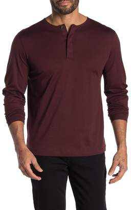Theory Mercerized Jersey Clean Henley