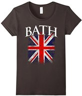 Kids Bath England British Flag Vintage T-Shirt 4