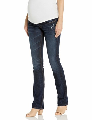 Silver Jeans Co. Women's Elyse Relaxed Fit Maternity Bootcut Jeans