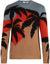Valentino Hawaiian knit sweater