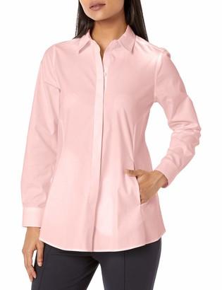 Foxcroft Women's Cici Petite Non-Iron Pinpoint Tunic
