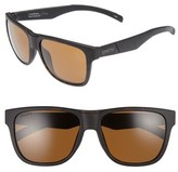 Smith Men's Lowdown 56Mm Polarized Sunglasses - Matte Tortoise