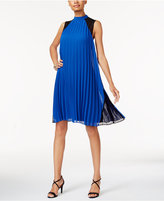 Thalia Sodi Pleated Shift Dress, Created for Macy's