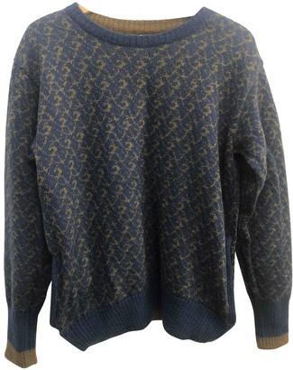 Salvatore Ferragamo Green Wool Knitwear