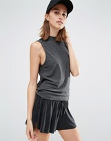 Vero Moda Contrast Split Back Shell Top